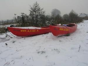 Spływy zimowe 1